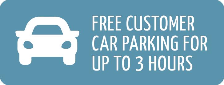 Free parking at Princess Alice